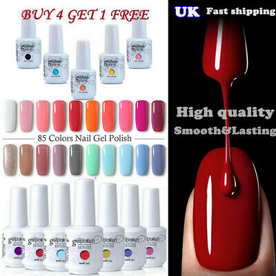 15ML GEL LAB Soak Off  UV LED Gel Polish Base Top Coat Art Manicure Varnish HOT!
