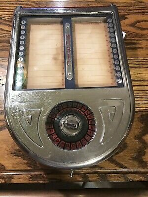 Wurlitzer Model 310 Wall Box Jukebox Wallbox