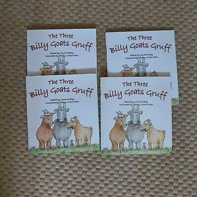 Lot of 4 THE THREE BILLY GOATS GRUFF (Pioneer Valley) Guided Reading Level F 10