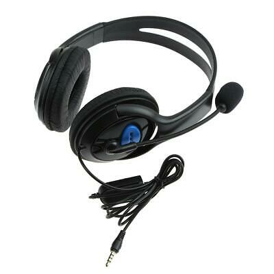 Stereo Wired Headset Game Headphone with Microphone for Sony Playstation 4 NEW