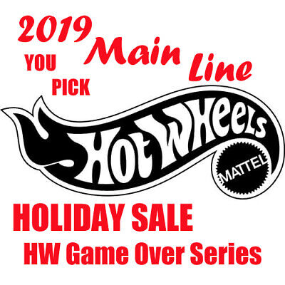 Hot Wheels **YOU PICK** 2019 Main Line HW Game Over Series Holiday Super Sale