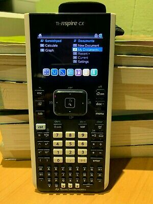 Texas Instruments TI-nspire CX Calculator with Case, Charging Cable and Pouch