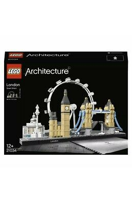 LEGO Architecture London Skyline Building Set 21034 Xmas Present Gift Toy