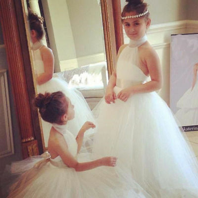 NEW Communion Bridesmaid Wedding Party Prom Princess Pageant Flower Girl Dress