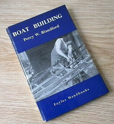 BOAT BUILDING BOOK by Percy Blandford WOODWORKING CARPENTRY VINTAGE SAILING