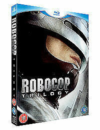 Robocop Trilogy (Blu-ray, 2010, 3-Disc Set)