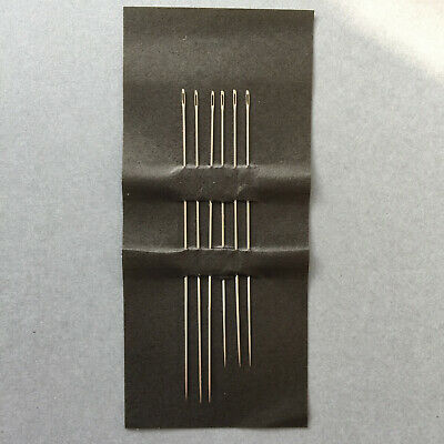 6 x Quality Japanese Fine Beading Needles.