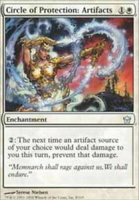 NM 4th Edition *CCGHouse* Magic Circle of Protection: Artifacts X4 MTG