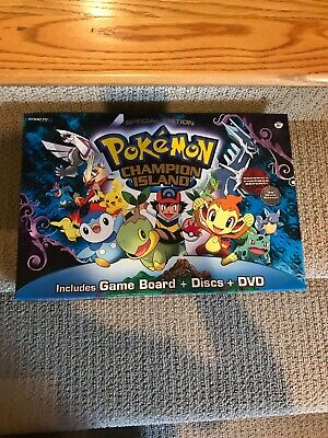 Pokemon Champion Island DVD Board Game Special Edition Used Snap Tv Games