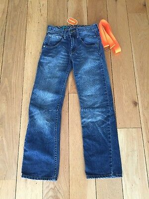 BOYS GIRLS DENIM BLUE JEANS BLUE ZOO AGE 11 Debenhams Adjustable Waist
