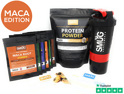 9 Day Diet & Detox Plan [ MACA Root Extract Edition ] Capsules & Protein Powder