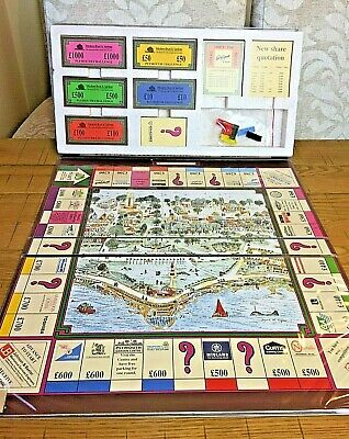 Plymouth Challenge Vintage Board Game 1990's - 100% COMPLETE - VGC - VERY RARE