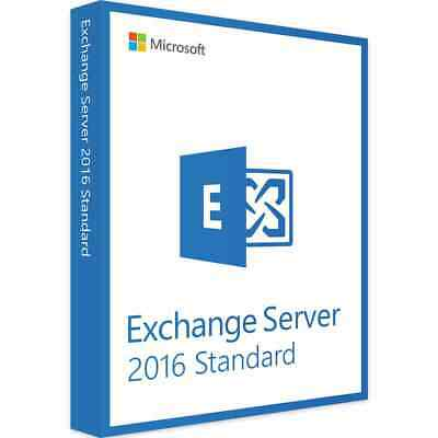 Microsoft Exchange Server 2016 Standard Product Key 🔑 - Fast Delivery 🚀