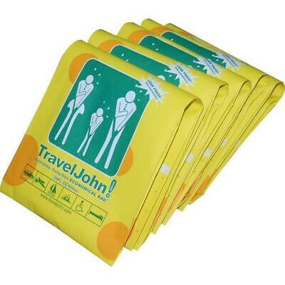 TravelJohn Vomit/Urinal Disposable Combo Bags (5 Pack)