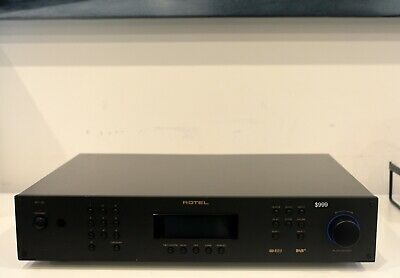 Rotel RT-12 RT12 DAB+ FM Tuner Network Streamer Black Ex Demonstration