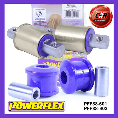 2002 /> 07 Powerflex Front Wishbone Front Bushes for Volvo XC70 P2 PFF88-601