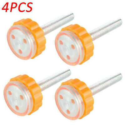 4PCS Baby Safe Stairs Gate Screws Bolts With Locking Nut Spare Part NR7Z