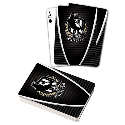 Afl Collingwood Magpies Playing Cards Gift Boxed , Black Jack , Poker