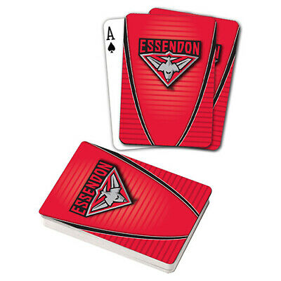 Afl Essendon Bombers Playing Cards Gift Boxed , Black Jack , Poker