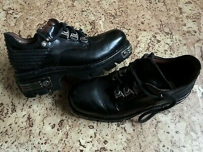 D Fits EU 40-48 UK 6-12 New Rock Boots /& Shoes Metal Fitting Tower Front Code
