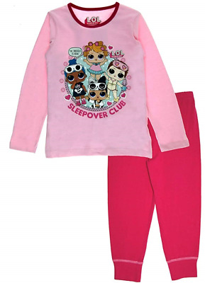 L.O.L Surprise ! Dolls Girls Long Pyjamas Pjs, Snuggle is Real, 7-8 Years