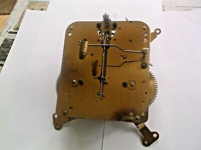 MECHANISM  FROM AN OLD HAC MANTLE CLOCK working order ref DAV 10