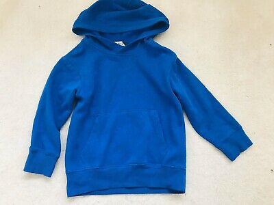 Girls Royal Blue Hoodie Age 4-6 Years From H&M