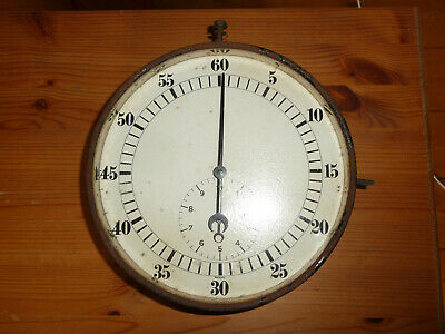 Vintage Wall 1940s German Timer Clock Stopwatch 10 min second factory GWO