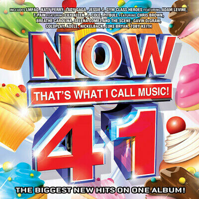 Now That's What I Call Music! 41 -  US CD 2012 - New & Sealed