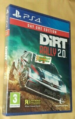 DiRT Rally 2.0 Day One Edition Playstation 4 PS4 NEW SEALED Free UK p&p