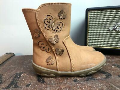 TU Brown Faux Leather Girl Winter Boots Size 7