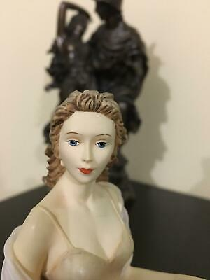 Leonardo collection Lady porcelain  figurine