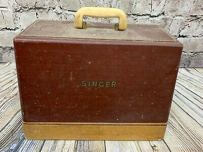 Vintage singer sewing machine model 185K
