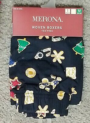 NWT Merona Christmas Boxers dog polar bear candy cane holiday small medium large