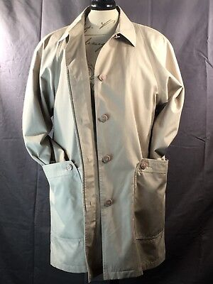 Homme LONDON Fog Trench Standard TOWNE PAR Taille 40 Coat DH2I9YWE
