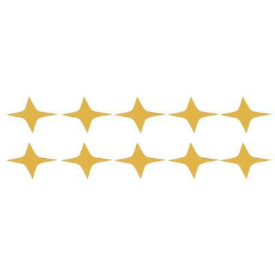 Star Shape 3D Wall Stickers Living Room Bed Room Ceiling Mirror Wall SA