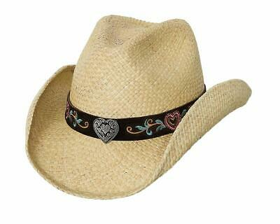 NEW Bullhide Hats 0647Ch More Than Friends Chocolate Cowboy Hat