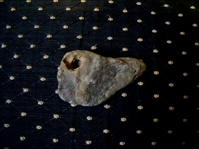 Effigy Bird Stone Birdstone Head Paleo Beak Unusual hole pocket art