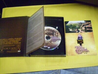 The Dark Crystal  (DVD, 2005) Collector's Edition   w/Limited Edition Film Strip