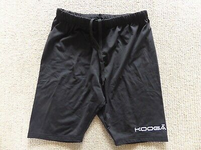 "Kooga Girl's Black Rugby Sport Shorts Size XL  28-30"" Waist, 8"" inseam"