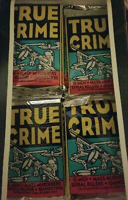 24 Packs 1992 True Crime Series 1 Trading Cards- Serial Killers and Mass Murders