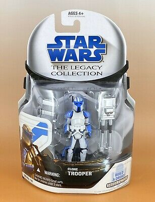 Star Wars The Legacy Collection CLONE TROOPER w/Quad Cannon BD16 Hasbro 2008 MOC