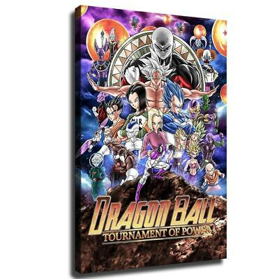 """12""""x18""""Dragon Ball Characters Collection HD Canvas Painting Home Decor Wall art"""