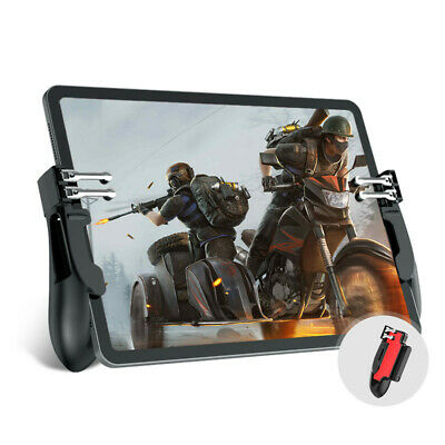 Game Controller Metal Button Trigger Shooter Joypad Gamepad for PUBG Phone iPad