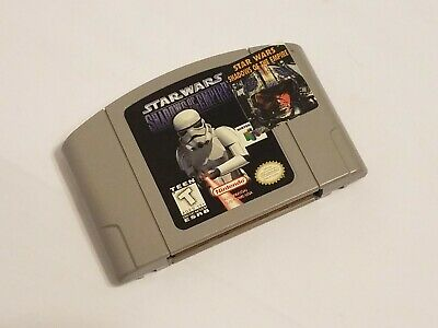 Nintendo 64 N64 Star Wars Shadows of the Empire Game Cartridge ONLY Classic!
