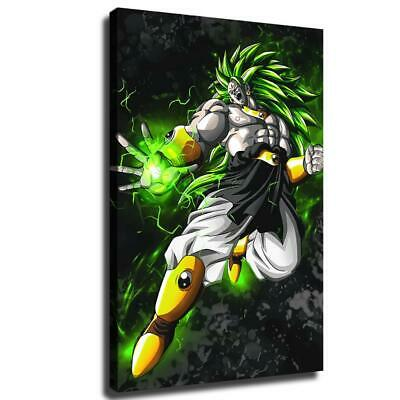 """12""""x18""""Super Saiyan Broly HD Canvas print Painting Home Decor Picture Wall art"""