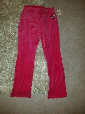 New Nwt Juicy Couture Kids Girls Yoga Track Terry Sweat Pants S Xl Free Ship