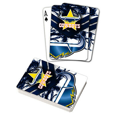 Nrl North Queensland Cowboys Playing Cards Gift Boxed , Black Jack , Poker