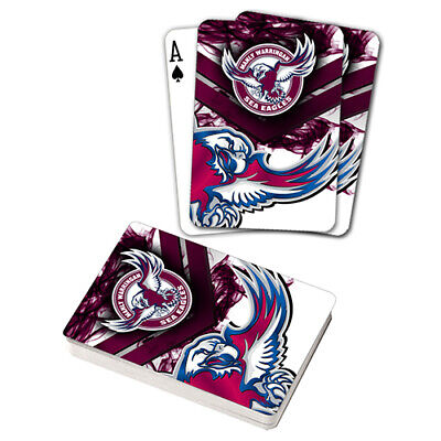 Nrl Manly Sea Eagles Playing Cards Gift Boxed , Black Jack , Poker