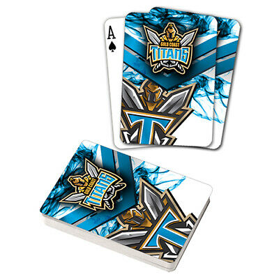 Nrl Gold Coast Titans Playing Cards Gift Boxed , Black Jack , Poker